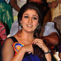 Pretty blooming Nayanthara latest photos in saree at nandi awards 2013 HQ pic collection