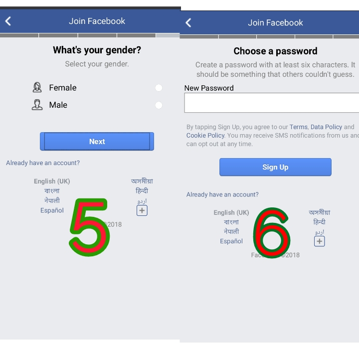 create facebook account,new facebook account,fb login, create new facebook, create fb.