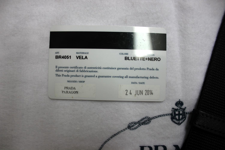 d0843a2f616964 Verish Bags: Prada Nylon Vela BR4051 Bluette + Nero