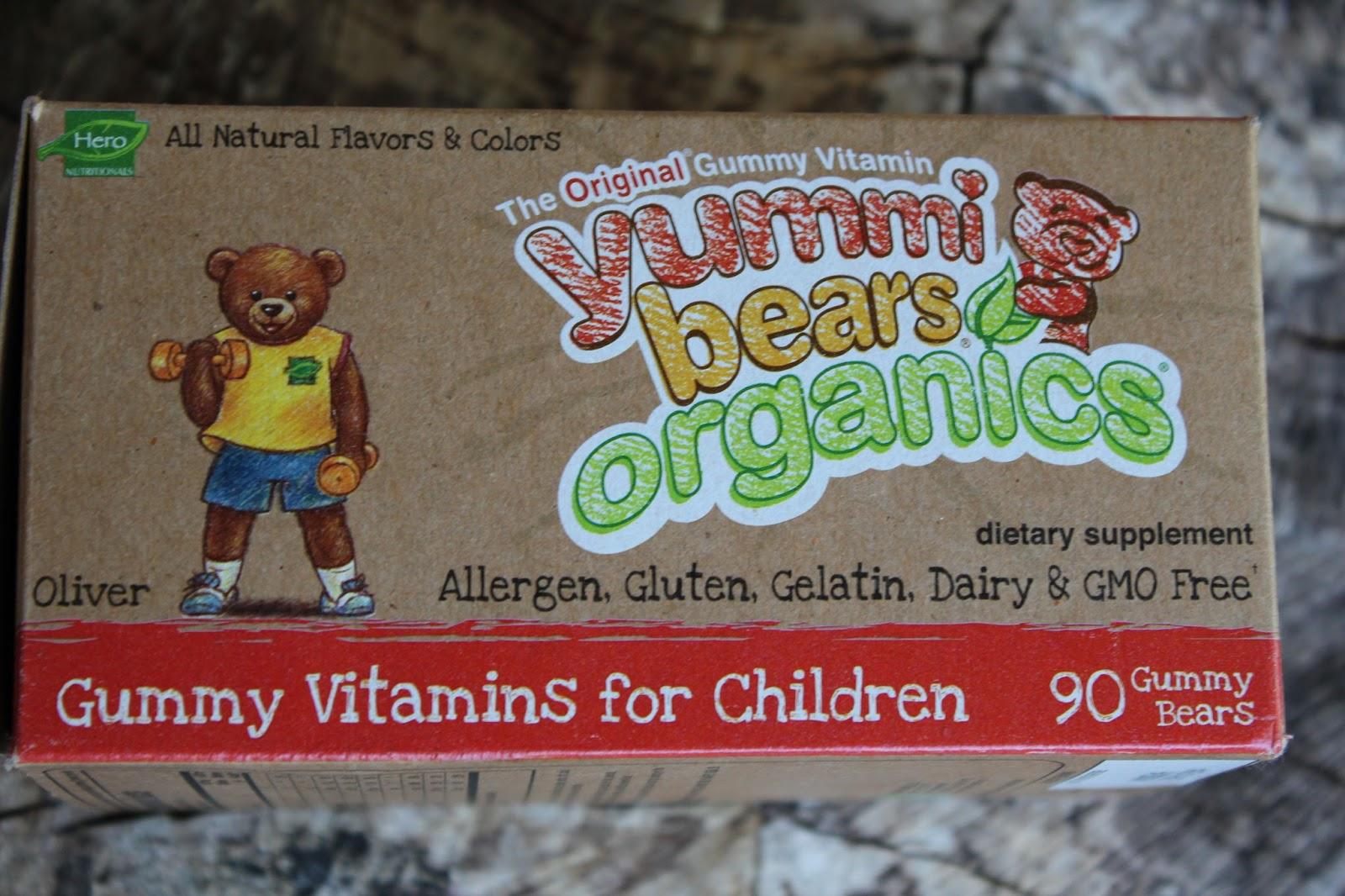 Evolution of an Allergy Mom: Yummibears Organics - Finally A