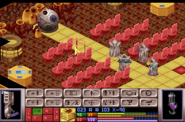 Open Xcom - Cydonia Brain Screenshot