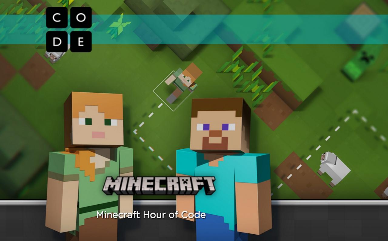 打電動也能學程式語言!微軟Minecraft搖身成為電腦程式教材