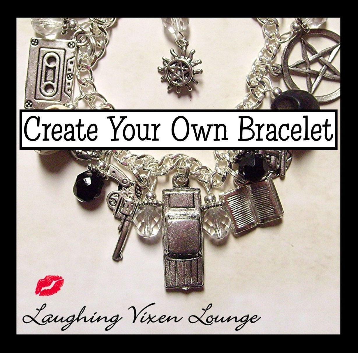 Make Your Own Charm Bracelets: Laughing Vixen Lounge: Supernatural Cares Giveaway And