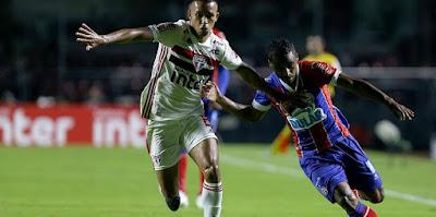 Bahia bate São Paulo no Morumbi e abre vantagem na Copa do Brasil