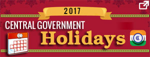 central-government-holiday-list-2017