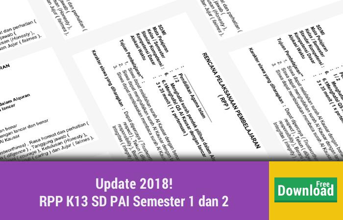 RPP K13 SD PAI