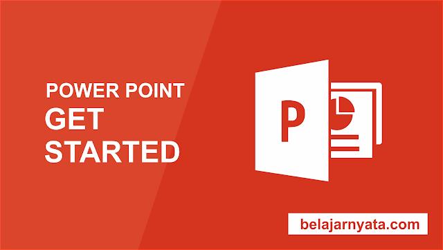 PowerPoint adalah program presentasi yang memungkinkan Anda untuk membuat sebuah presentasi dinamis yang bisa di kontrol dengan bergantian slide secara bergeser. Presentasi ini dapat menyertakan animasi, narasi, gambar, video, dan banyak lagi. Pada pelajaran ini Anda akan belajar tentang sekitar tampilan,fungsi menu, Quick Access Toolbar dan Backstage pada Power Point.