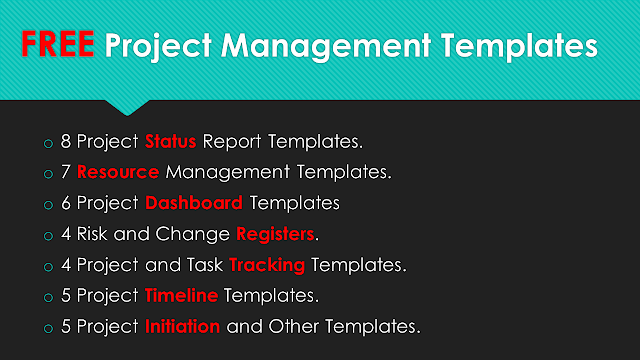 Project Management Templates Free Download