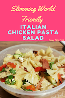 Slimming world Italian pasta salad recipe