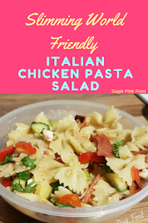Slimming world Italian pasta salad recipe