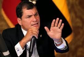 Rafael Correa baja en las encuestas