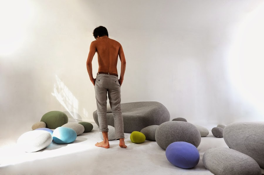 Cojines y sofas piedra8
