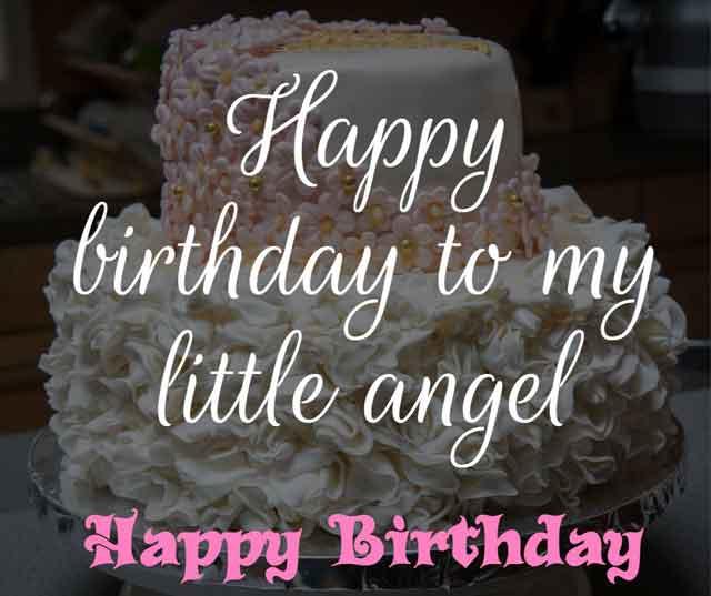 ❝ Happy birthday to my little angel ❞