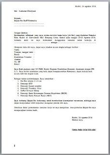Surat Lamaran Kerja Pegawai Desa