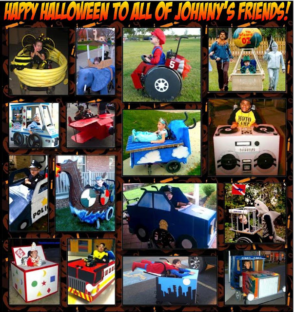 johnny optimism, medical, humor, sick, jokes, boy, wheelchair, doctors, hospital, stilton jarlsberg,  wheelchair, halloween, costumes, kids