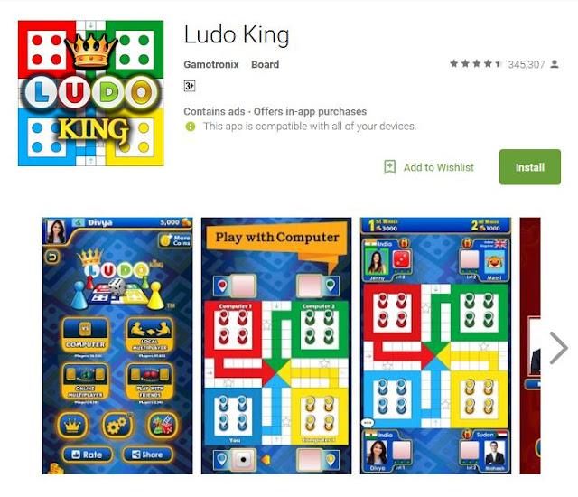cara bermain ludo king