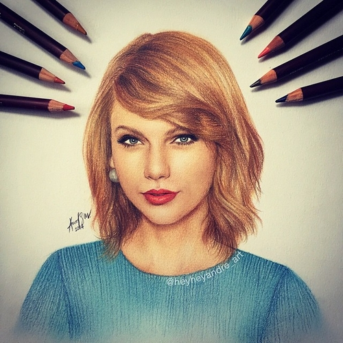 03-Taylor-Swift-André-Manguba-Celebrities-Drawn-and-Colored-in-with-Pencils-www-designstack-co