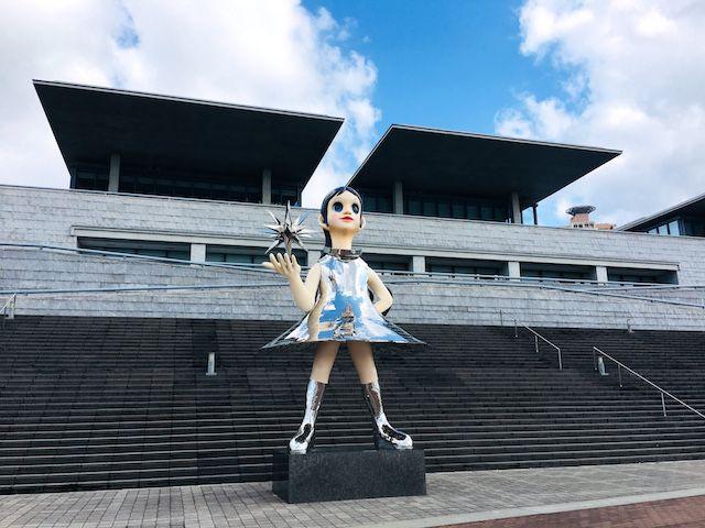 兵庫県立美術館のサンシスター