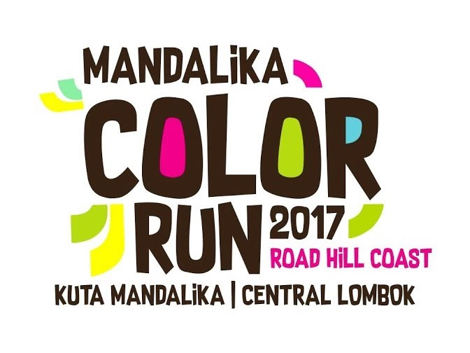 Mandalika Colour Run • 2017 Logo
