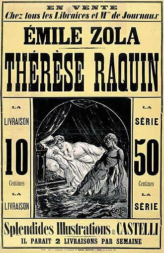 Book cover for Émile Zola's Thérèse Raquin in the South Manchester, Chorlton, and Didsbury book group