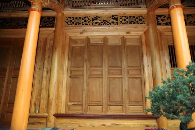 nhà gỗ xoan đẹp