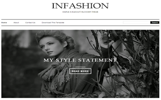 iNFashion Classic Blogger Template