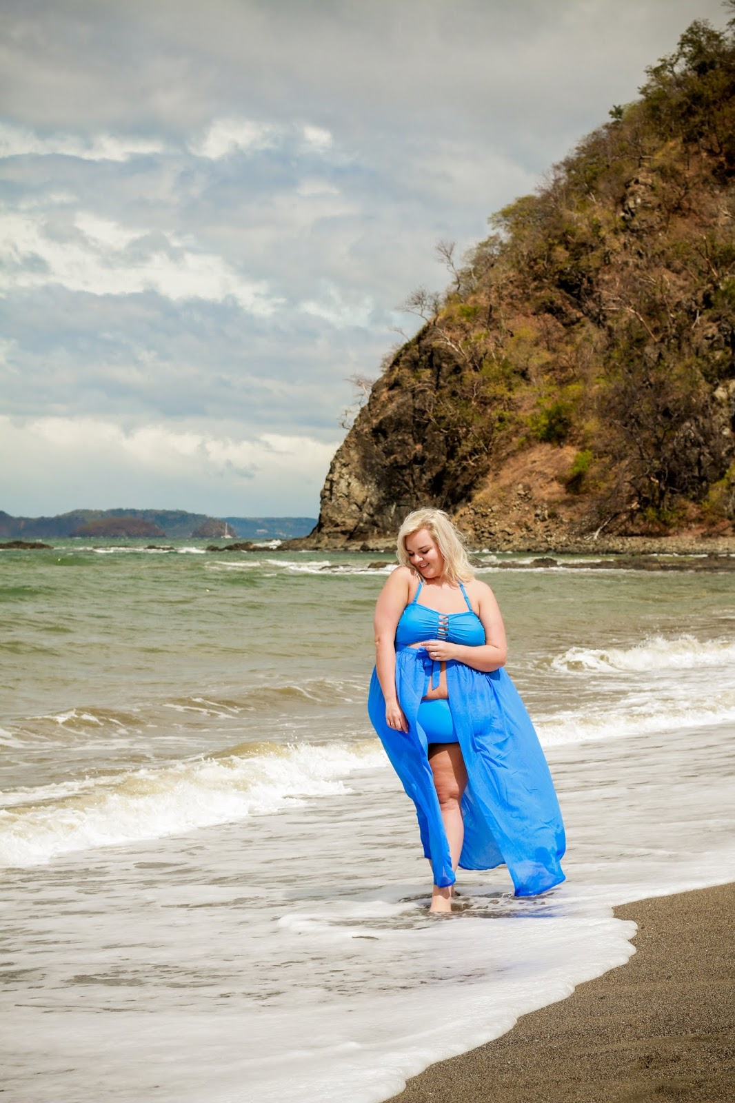 Simply Be Simply Yours Swimwear on UK Plus Size Fashion Blogger WhatLauraLoves