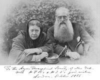 Blavatsky y Olcott, 1888