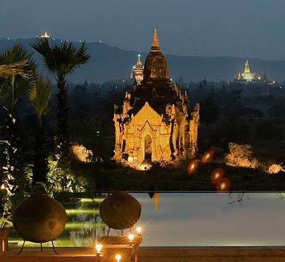Aureum palace hotel Bagan with some stylish elements