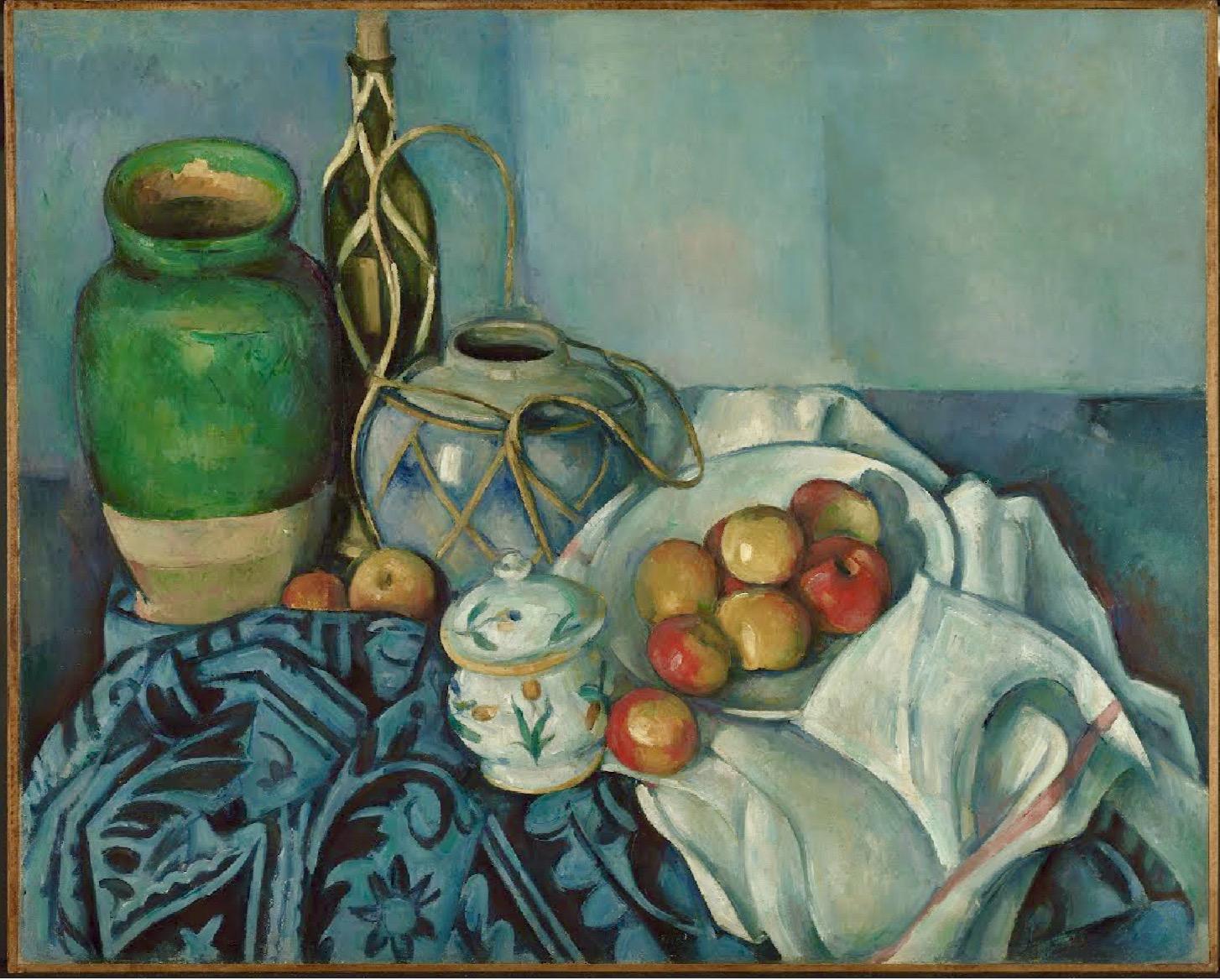 El Poder del Arte: Naturaleza muerta con manzanas, Paul Cézanne