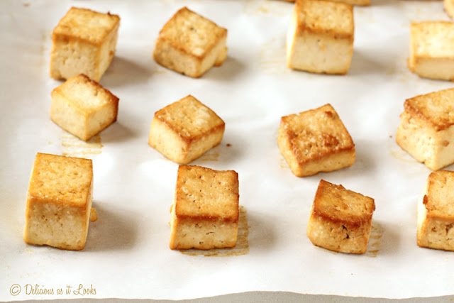 Marinated Baked Tofu - 2 Ways! {Low-FODMAP, Gluten-Free, Vegan}  /  Delicious as it Looks