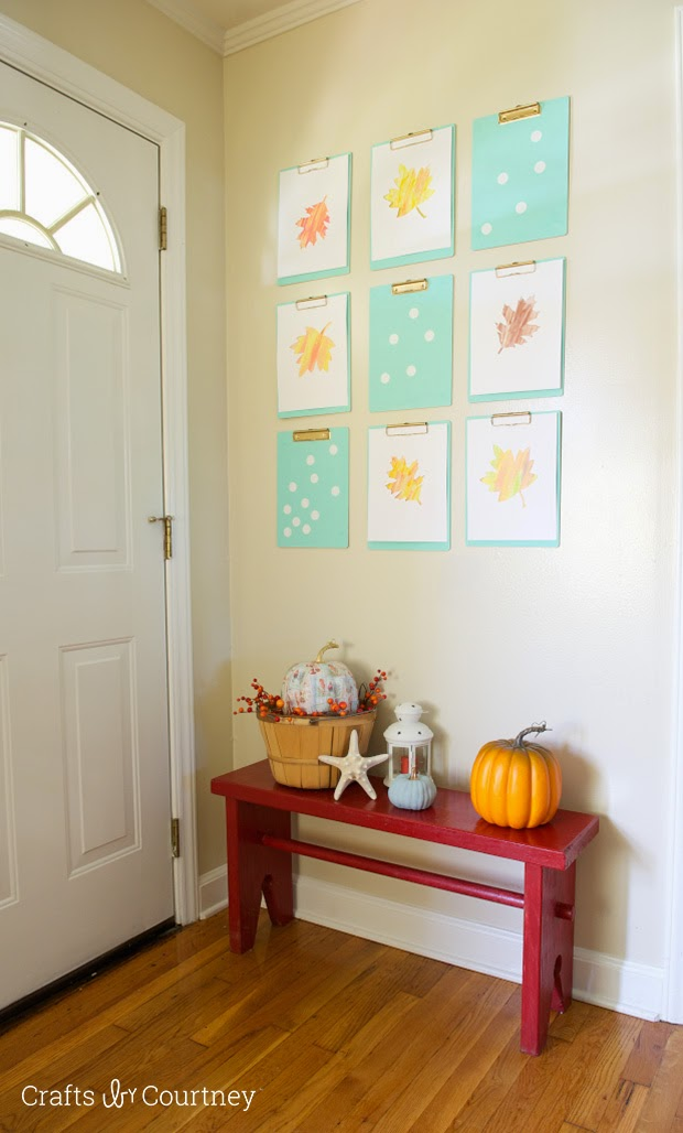 Fall Love Decorations