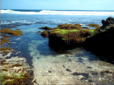 Pesona Pantai Jonggring Saloko Malang
