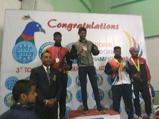 फरीदाबाद के खिलाड़ी ने लिया किक बॉक्सिंग राष्ट्रीय लेवल प्रतियोगिता में स्वर्ण पदक