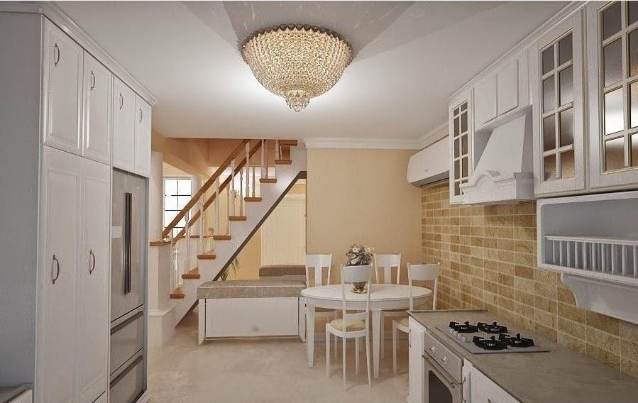 Design interior casa stil clasic american Constanta - Design Interior / Amenajari Interioare | Amenajare bucatarie casa stil - clasic - de - lux | Mobila - bucatarie - lemn - la- comanda