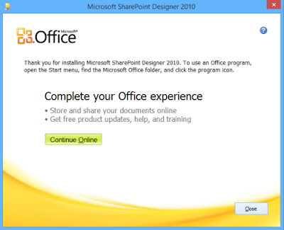 Catatan Ikrom Cara Install Microsoft Picture Manager pada Microsoft Office 2013 dan 2016 finish installing