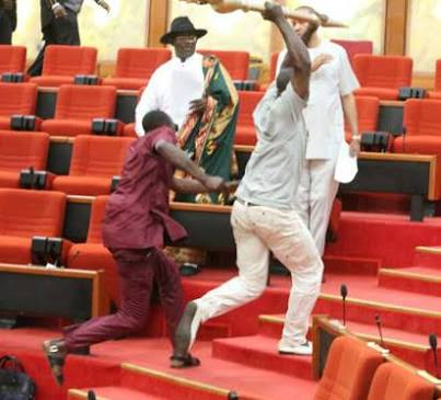 How Police Recovered Stolen Mace Of The Senate
