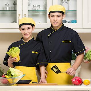 đồng phục làm bếp