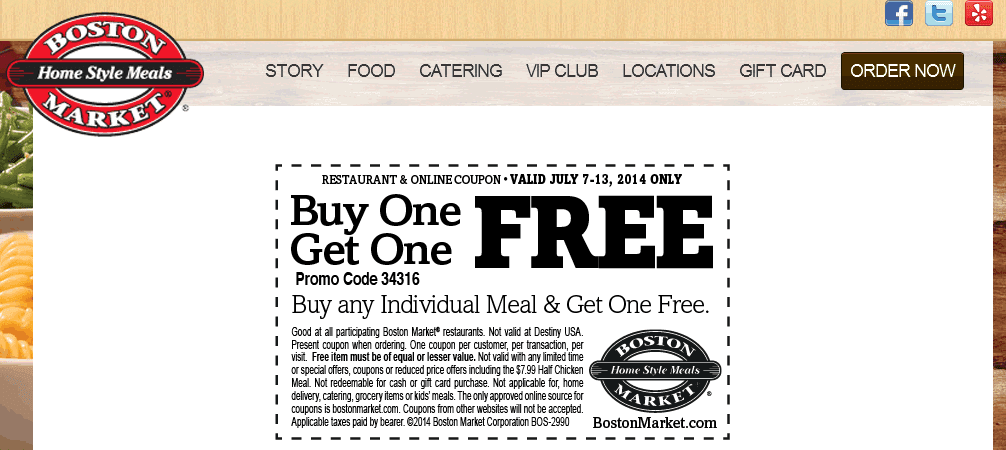 photograph relating to Boston Market Printable Coupons named Boston current market printable discount coupons 2018 : Kobe nba coupon
