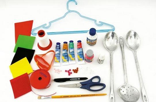 Aprende c mo hacer un lindo juguete de catarina y aviones - Cucharones de cocina ...