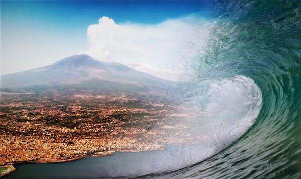 URGENTE: científicos advierten que el volcán etna provocará un tsunami en Europa.