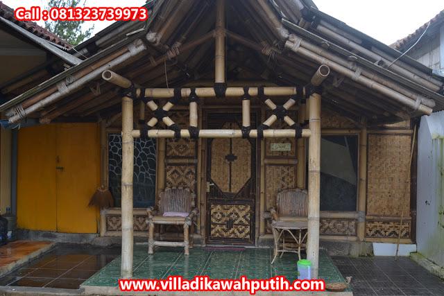 Booking villa di area wisata kawah putih dari brebes