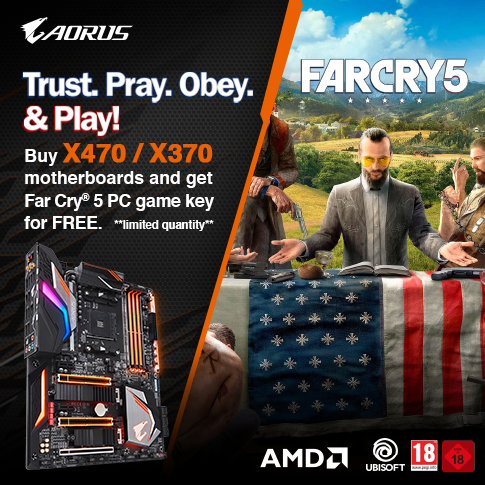 Join The Resistance With Selected Aorus X399, X470 and X370 Motherboards