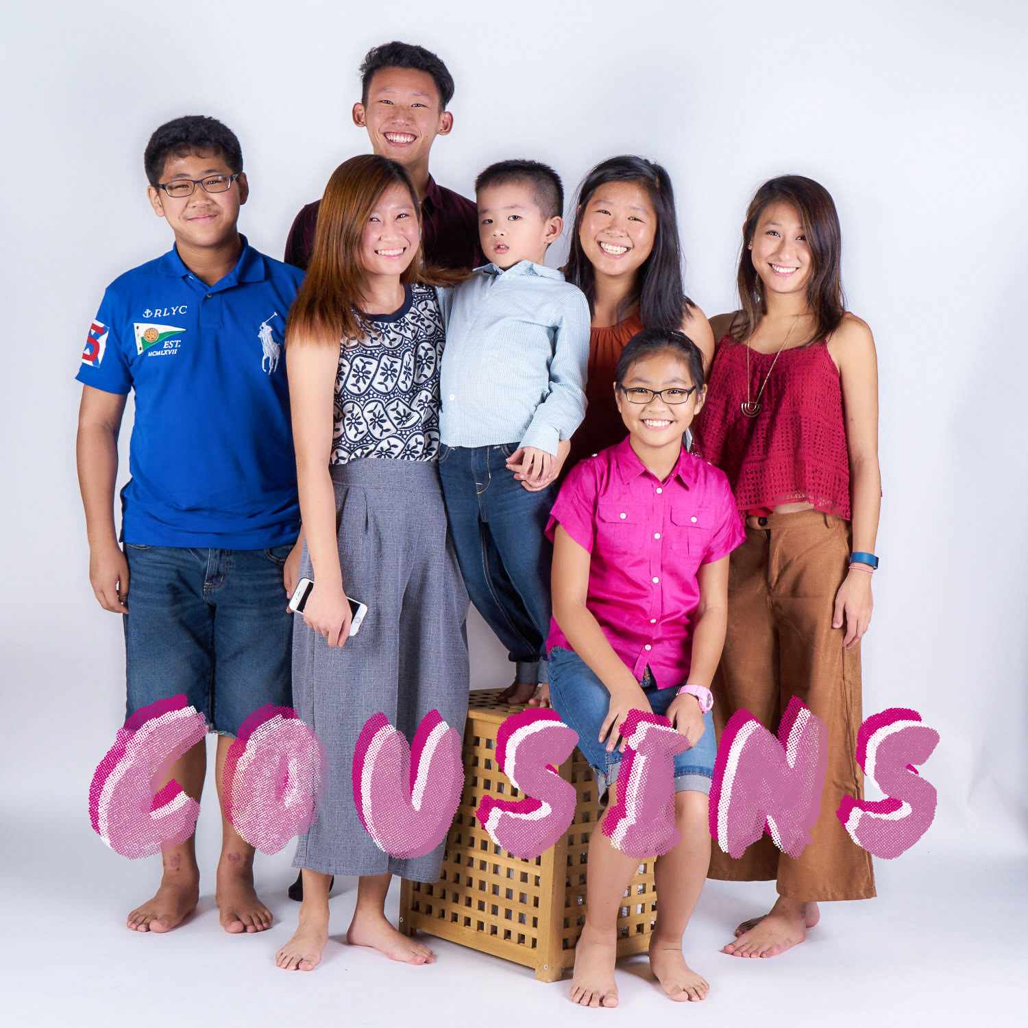 COUSINS STUDIO SHOOT!