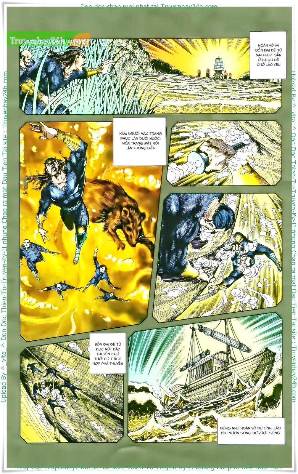 Tần Vương Doanh Chính chapter 27 trang 15