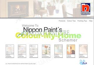 Aplikasi Cat luar dan dalam ruangan nippon paint