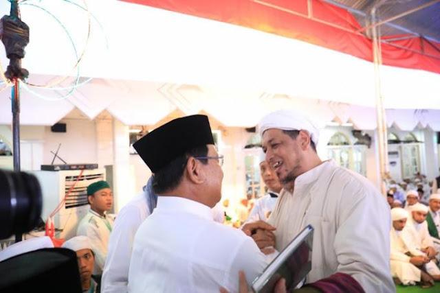 Silahturahmi Masyarakat Jatim, Prabowo akan Lindungi Semua Golongan
