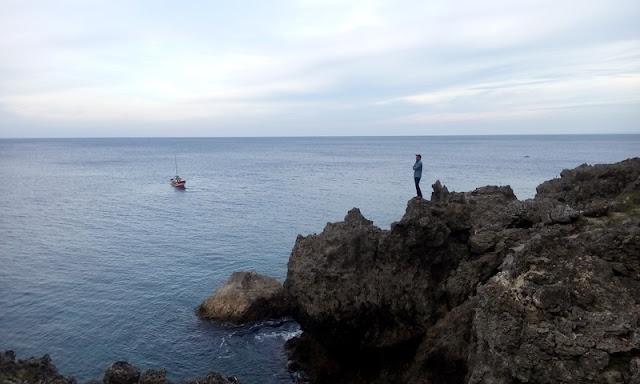 Tebing tempat lompat benteng jepang sabang