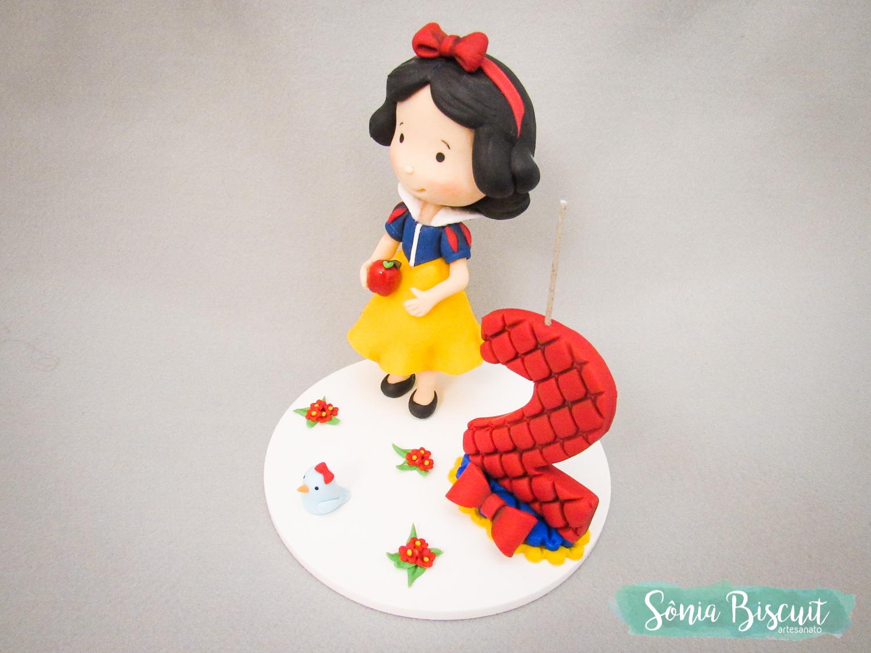Biscuit, Topo de Bolo, Branca de Neve, Sonia Biscuit, Princesas