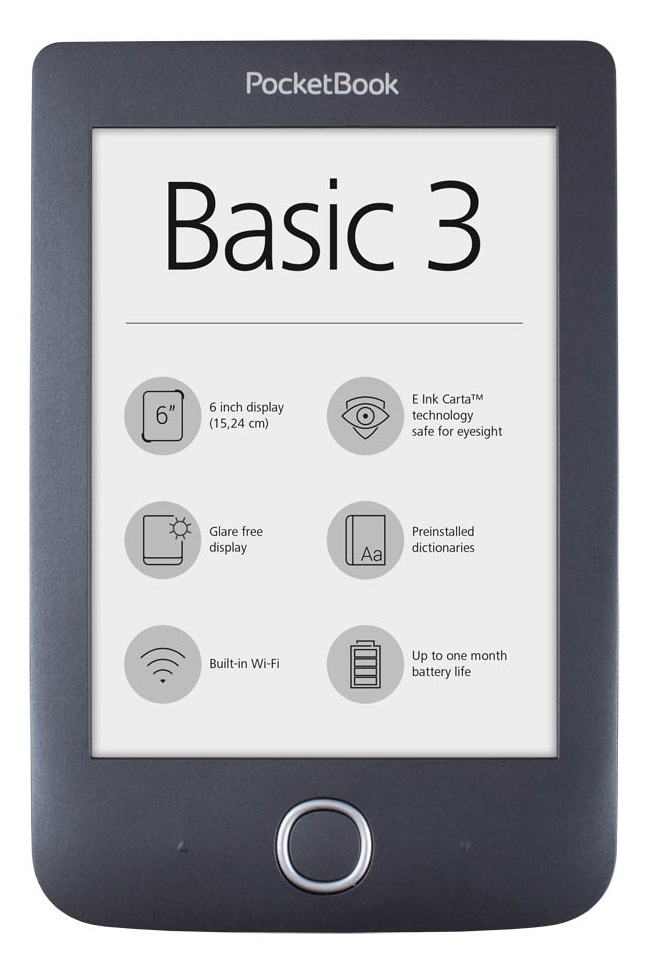 czytnik e-booków PocketBook Basic 3